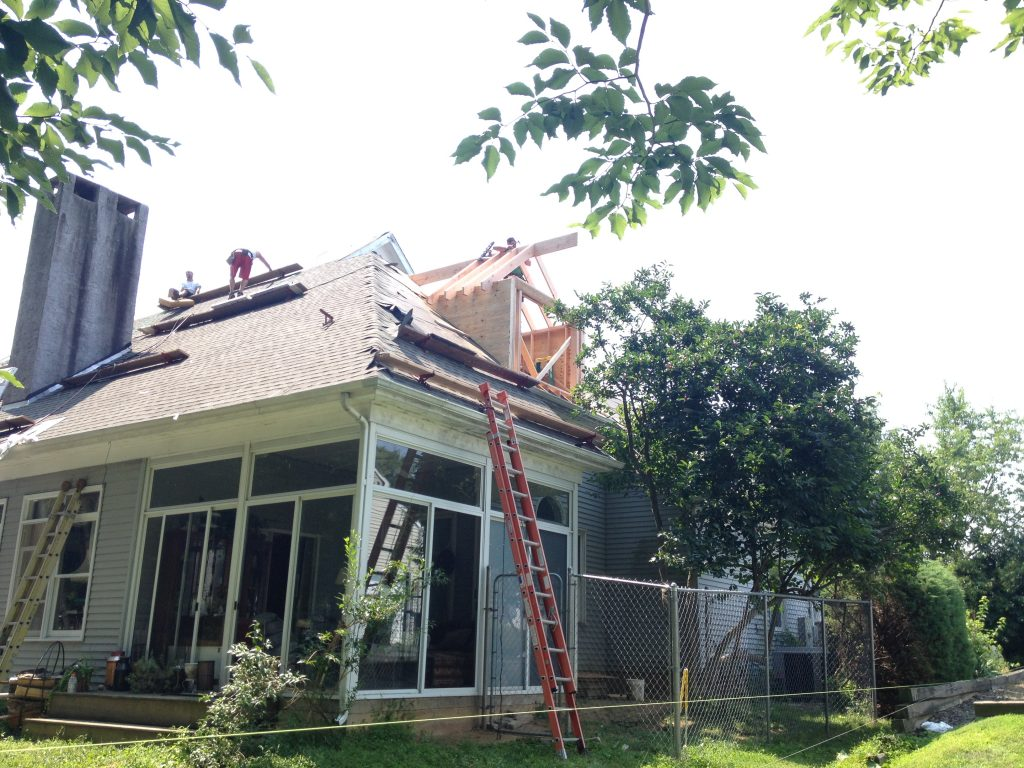 Roof repairs by Porter Family Contracting