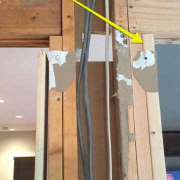 hidden wires during Doylestown project