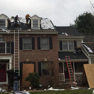 Adding shingles to the dormers