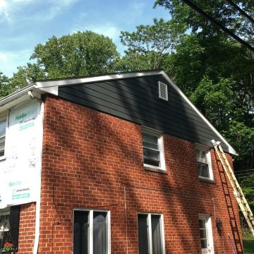 starting to apply the james hardie fiber cement siding