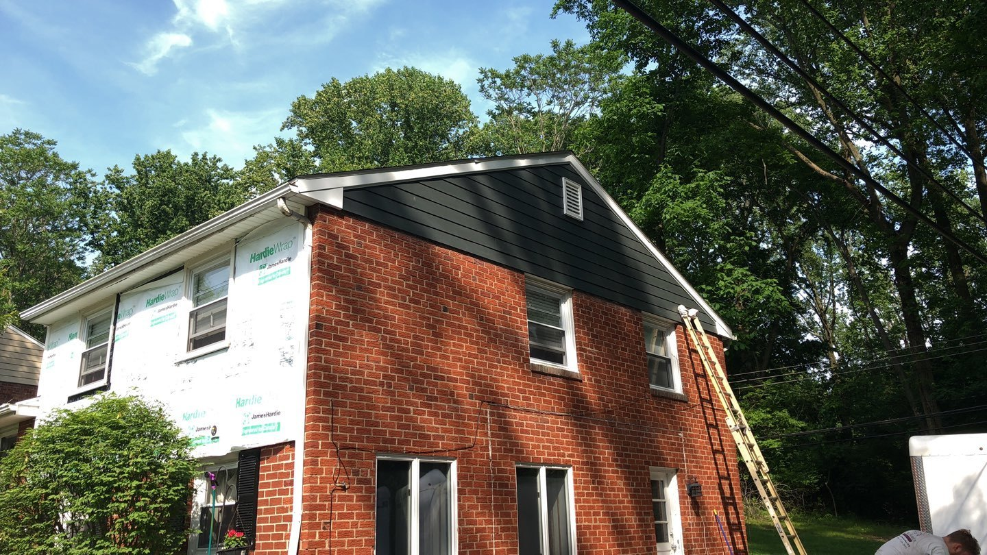 New James Hardie Siding In Springfield Porter Family
