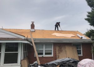Installing a new roof