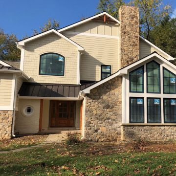 Siding replacement job in Valley Forge