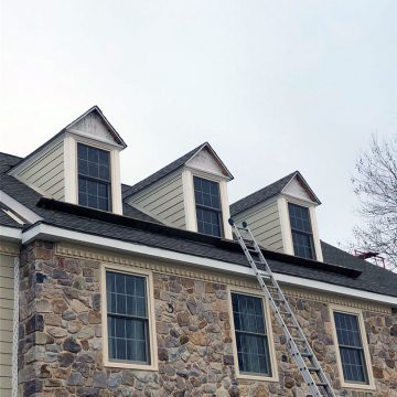 Applying James Hardie fiber cement siding to dormers