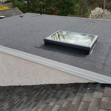 replacing the skylight for a homeowner in Fort Washington