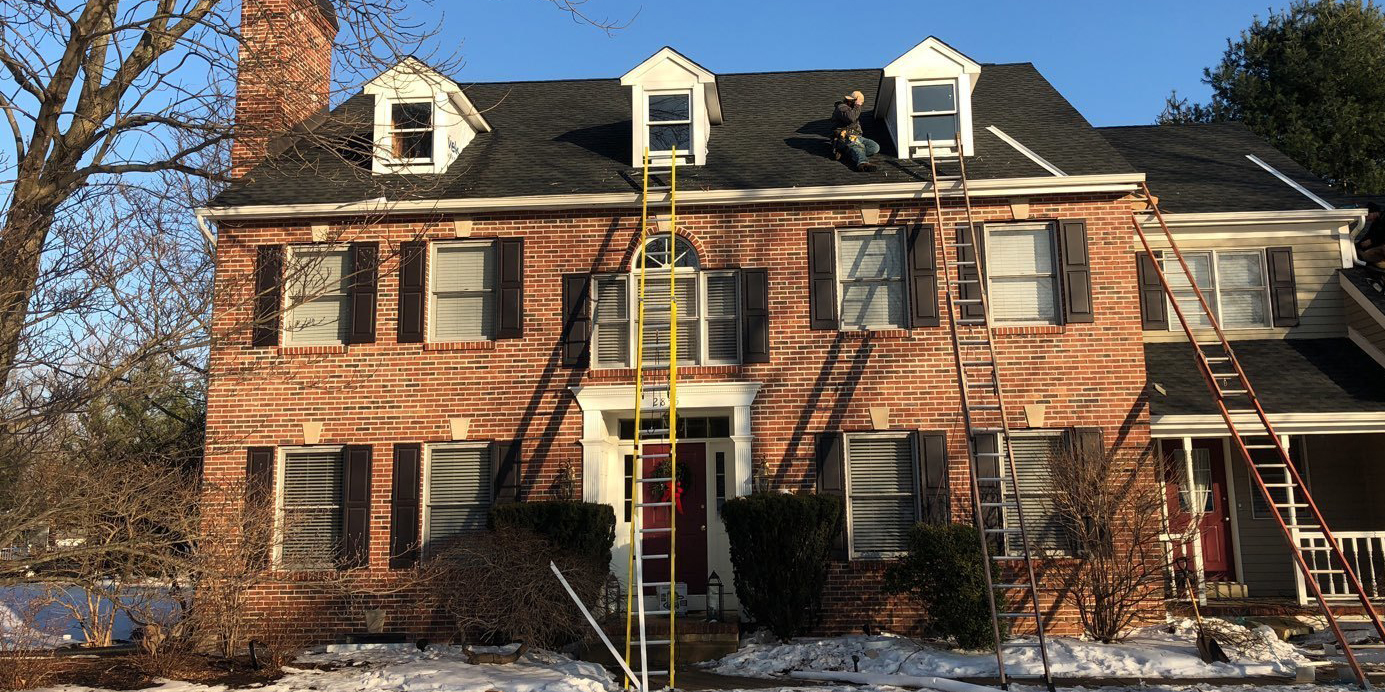doylestown roofing job
