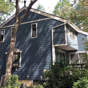 swarthmore home gets brand new siding