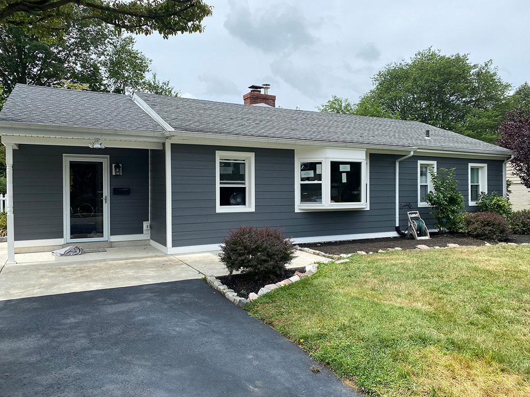 Iron Grey James Hardie Siding in Broomall, PA