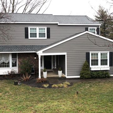 Finally, the new siding was installed and we completed this homes new look!