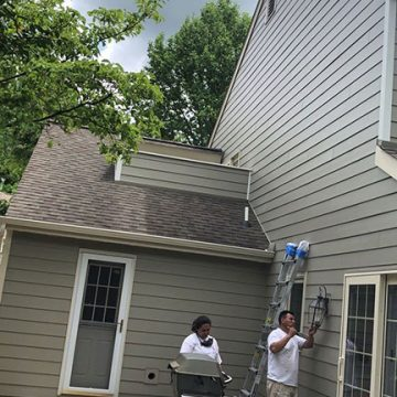 After the new siding was installed, we focused our attention on a few last minute details!