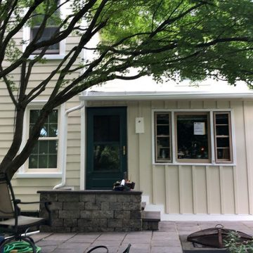 With new siding and windows in place, this home is back in order!